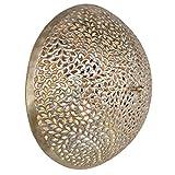 miaVILLA Wandleuchte Deckenleuchte Nadeem - Orientalisch - Metall - Silber
