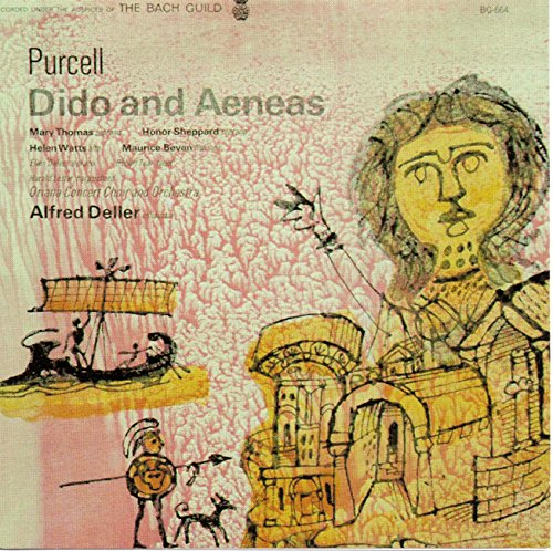Alfred Deller - Purcell : Masque in Dioclesian / Dido & Aeneas