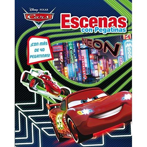Cars Neon. Escenas con pegatinas (Disney. Cars) 10