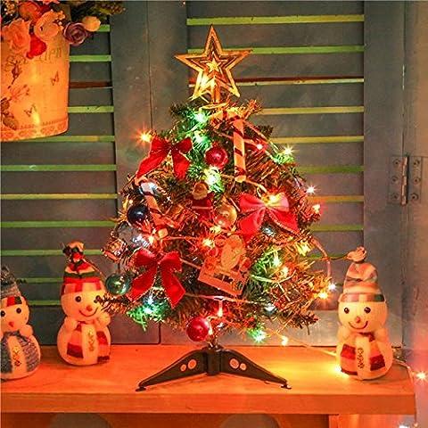Addobbi natale 40cm decorativo albero di Natale pacchetti maturi albero di Natale ornamenti Natale Decorazioni
