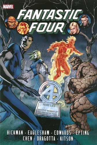 Fantastic Four by Jonathan Hickman Omnibus Volume 1 by Hickman, Jonathan (2013) Hardcover