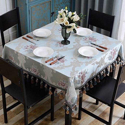 Nappe européenne Nappe Carrée Nappes Européennes Nappe Petite Table Carrée Table Basse (taille : 160 * 160cm)