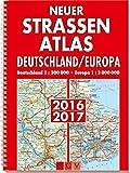 Neuer Straßenatlas Deutschland/Europa 2016/2017: Deutschland 1 : 300 000 / Europa 1 : 3 000 000 -