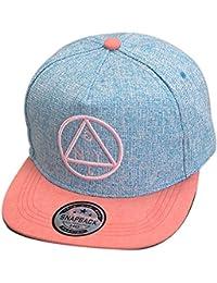 THENICE Damen Hip-Hop Dreieck Muster Cap Baseball Hut