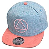 Belsen Kind Hip-Hop Dreieck Muster Cap Baseball Hut (Kind, blau)