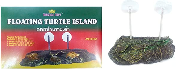 Royal Pet Floating Stone Turtle Island, 27.50x16.50-cm