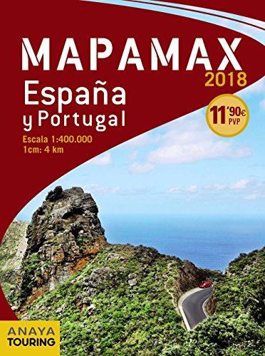 Mapamax - 2018 (Mapa Touring) por Anaya Touring