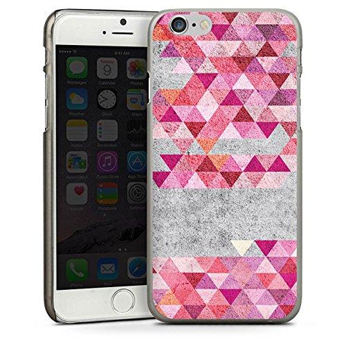 Apple iPhone 5s Housse étui coque protection Triangles Triangles Triangles CasDur anthracite clair