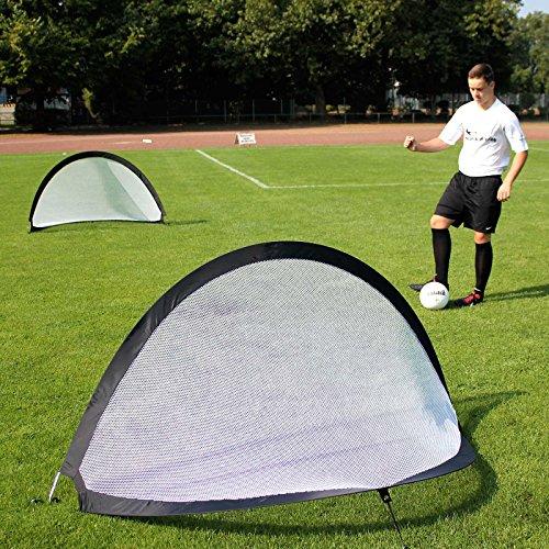 2 Pop-Up-Tore im Set, 180 cm breit, für Teamsportbedarf - Fußballtraining