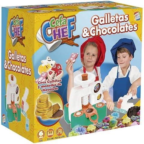 Cefa Chef - Galletas y chocolates, juego para cocinar (Cefa Toys 21733)