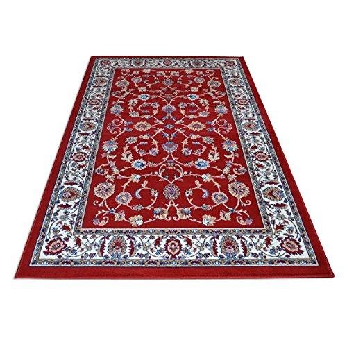 WEBTAPPETI Alfombra clásico economico Dibujo Oriental Persa Alfombra Salón Royal Shiraz 2079-RED
