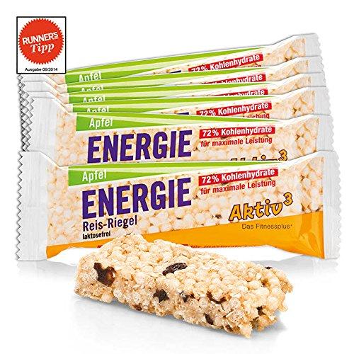 Energie Reis-Riegel Apfel Aktiv3 · 11er-Pack