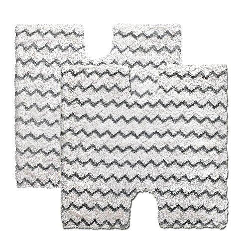 BettaWell 2er-Pack Ersatz Dampf Mop-Pads für Shark Lift-Away Pro Tasche Dampfbesen & Genius Steam Pocket Serie Mop |Vergleichen Sie mit Hai Teil XTP184