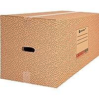Pack 10 Cajas Carton para Mudanzas y Almacenaje 600x400x400mm Ultra Resistentes con Asas, 100% ECO Box - Packer PRO