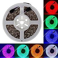 5 Meter 5050 150 Leds KOMPLETT SET: RGB LED STRIP 5 METER - Controller, 44 Tasten Fernbedienung und Netzteil. Mehrfarbig viele Funktionen
