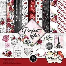 "Papericious Designer Edition Paper Pack 6""X6"" - Perfect Affair"