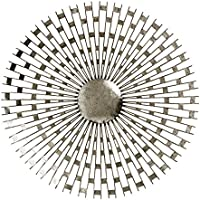 Premier Housewares Tribeca Wall Art - Silver, Silver/Distressed Finish
