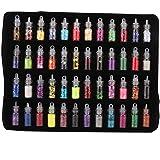 Pongnas 48 Flessen van Kleur Glitter Pailletten Poeder Decoratie Diy Sieraden Epoxy Mould Making Tools