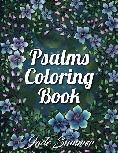 Free Download PDF Psalms Coloring Book: An Inspirational Adult Coloring  Book With Fun, Easy, And Relaxing Coloring Pages Full Download Online By    Jade ...