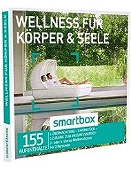 SMARTBOX - Geschenkbox - WELLNESS FÜR KÖRPER & SEELE - 155 Aufenthalte: 1 Nacht, Frühstück und Wellness in 3* oder 4* Wellnesshotels