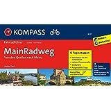 MainRadweg, Von den Quellen nach Mainz: Fahrradführer mit Stadtplänen und GPX-Daten zum Download.: Fietsgids 1:50 000 (KOMPASS-Fahrradführer, Band 6237)