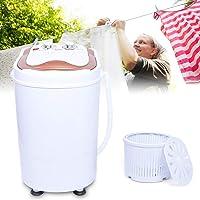 Jasemy 240 W Dortoir/Home étudiant Portable Mini machine à laver sèche-linge avec déshydratation