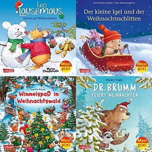 Maxi-Pixi-4er-Set 62: Bald nun ist Weihnachtszeit (4x1 Exemplar) (62)