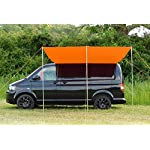 DEBUS Campervan Sun Canopy Awning - Brilliant Orange