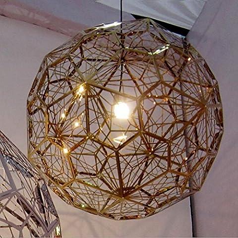 Lustre de salon simple et moderne Le nouvel alliage de fer créatif en acier inoxydable Accessoires d'éclairage , roses gold