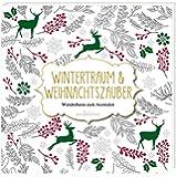 Malbuch für Erwachsene: Wintertraum und Weihnachtszauber