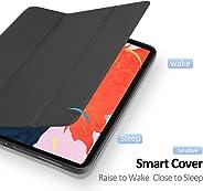 matengf Compatibel met iPad Pro 11 Inch 2020 PU Tablet Case Anti-scratch Flip Stand Cover met Slaapfunctie en Pen Houder (Bl