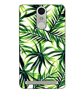 Fuson Designer Back Case Cover for Lenovo K5 Note :: Lenovo Vibe K5 Note Pro (Tree Leaves theme)
