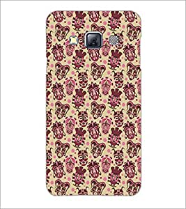 PrintDhaba Pattern D-5463 Back Case Cover for SAMSUNG GALAXY A3 (Multi-Coloured)