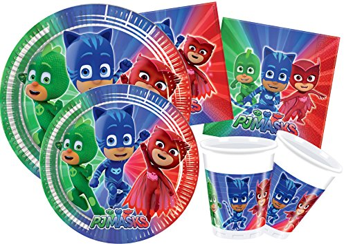 Ciao y4321 - Kit Party in-PJ Masks, Mehrfarbig