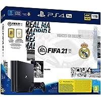 PlayStation 4 Pro (PS4) - Consola de 1 TB + FIFA 21, Edición Real Madrid [Edizione: Spagna]