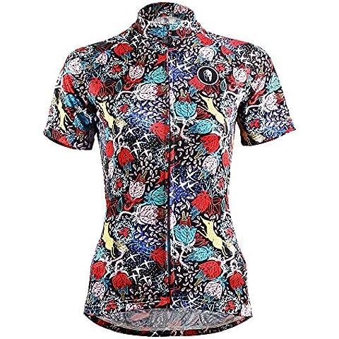 hebike 2016nuova giacca maglia ciclismo bicicletta donna maglia maniche comodo traspirante rapido asciutto Shirts Tops, Uomo Ragazzi Bambino, Hunt, XXXL