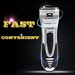La eliminaci n de los hombres m quina de afeitar el ctrica masculino barba Trimmer 6pcs Set de la maquinilla de afeitar del