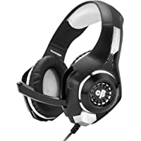 Cosmic Byte GS410 Headphones with Mic and for PS4, Xbox One, Laptop, PC, iPhone and Android Phones (Grey)