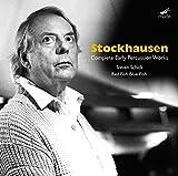Stockhausen : Intégrale des oeuvres pour percussion de jeunesse.
