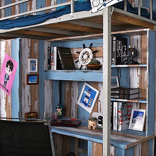 lsaiyy Tapete Schlafsaal PVC Streifentapete Selbstklebende Student warme Schlafzimmer Tapete-45CMX10M -