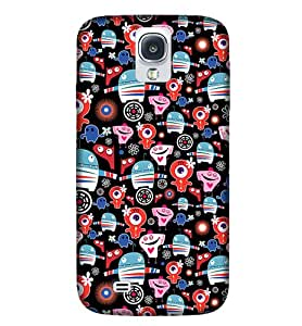 NEW S4 Mustach Illustration Phone Back coverGI72