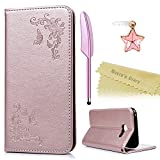 Mavis's Diary Samsung Galaxy A5 2017 Hülle Rosa Tasche
