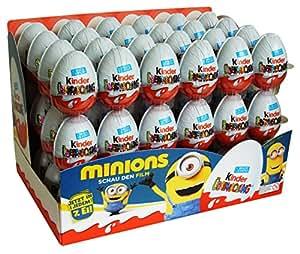 Kinder Surprise Minions 20g boîte de 72 oeufs