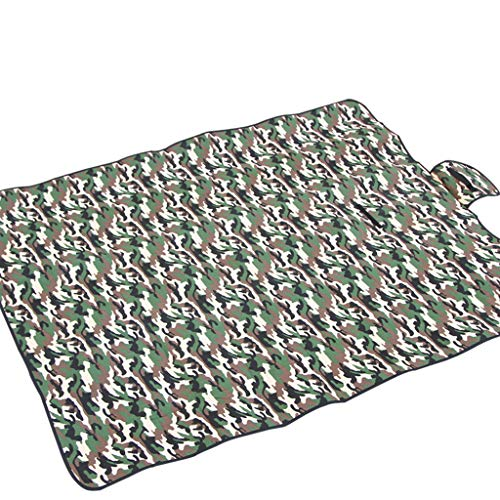 FSEDFFS 150 * 180Cm Camouflage Picnic Mat For Beach Mattress Picnic Camping Mat Outdoor Barbecue Camping Picnic,150 * 180 * 0.25CM