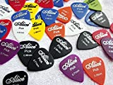 #5: Alice 21 different size plectrums/picks in Assorted Colors.