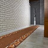Bombay Teppichläufer Küchenmatte Flur Brücke Braun 80cmx250cm