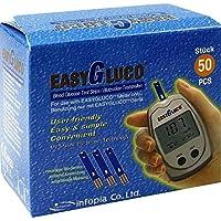 EASYGLUCO Blutzucker Teststreifen 50 St preisvergleich bei billige-tabletten.eu