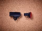 Cube RFR Tour 15 USB Fahrrad Beleuchtungsset schwarz