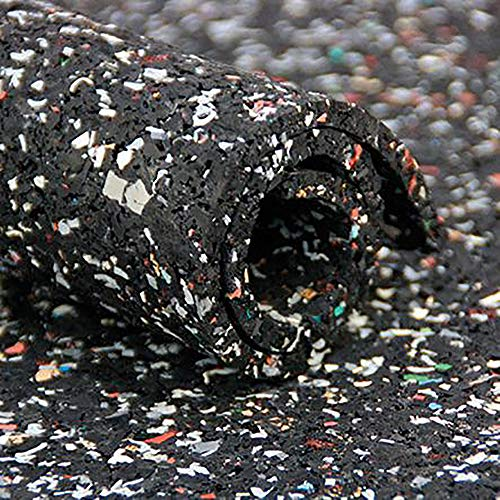 Format 4053569254724-gummi-recycling-matte schw./FARB. 8mm. 1,5x 5m -