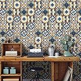 JY ART Fliesenaufkleber Dekorative Wandgestaltung mit Fliesenaufklebern für Küche und Bad, Deko-Fliesenfolie für Küche u. G017, 20cm*5m